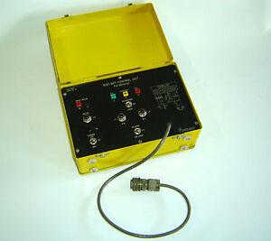 Luftfahrzeug Test-Set  Controll-Unit Thermister Flugzeug Werkzeugsatz Typ 500031