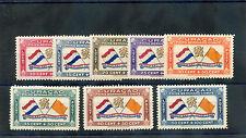 NETHERLANDS ANTILLES Sc CB1-8(MI 175-82)*VF LH aIR SEMI POSTAL SET $600