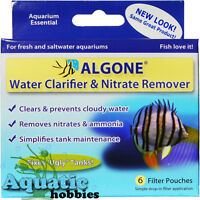 Algone Large Treats up to 1200 Gallons Water Clarifier & Nitrate Remover Fresh