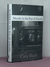 signed by the author, Murder in the Rue de Paradis by Cara Black
