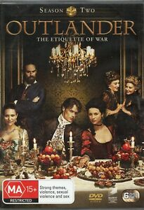"""OUTLANDER. S2. """"One of - if not the - best TV shows of the decade"""". 6 x R4 DVDs"""