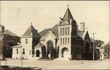 Beatrice Ne Presbyterian Church Real Photo Postcard