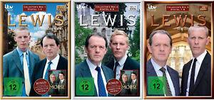 38 DVDs * LEWIS - DER OXFORD KRIMI - COLLECTORS BOX 1+2+3 IM SET # NEU OVP &