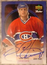 SAKU KOIVU SIGNATURE RETRO UPPER DECK 1999 McDONALD'S CARD - MINT-RARE