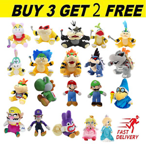 Super Mario Bros. Plush Toy Stuffed Doll Soft Animals Kids Christmas Gifts UK  A