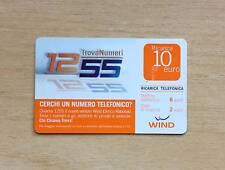 RICARICA TELEFONICA WIND -CERCHI UN NUMERO TELEFONICO TROVA NUMERI 1255 -10 EURO