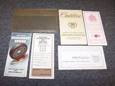1980 Cadillac Fleetwood Brougham Sedan Owner Owner's Guide Manual Set 6.0L V8