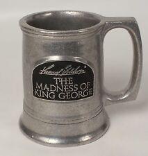 Pewter Beer Stein Madness of King George Samuel Goldwyn Hallmark