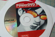 Cyberlink PowerDVD 5 Premiere DVD Experience on the PC for Windows