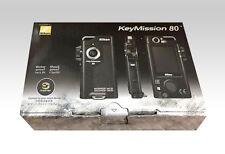 New Nikon Waterproof Wearable Camera KeyMission 80 Black from Japan Free Ship