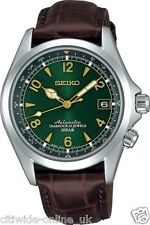 SEIKO SARB017 MECHANICAL Alpinist Automatic Mens Leather Watch *UK TAX FREE FBA