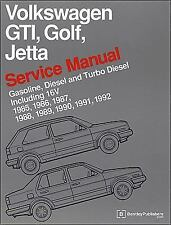 Volkswagen Gti, Golf, Jetta Service Manual: 1985, 1986, 1987, 1988, 1989, 199...