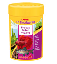 Sera Freeze Dried Bloodworms 20g Tropical Fish Food