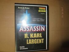 THE ASSASSIN R. KARL LARGENT AUDIOBOOK REDUCED FOR AUTUMN