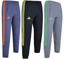 Men's Adidas 3 Stripe Joggers Tracksuit Jogging Bottoms Track Sweat Pants