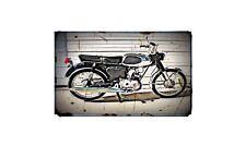 1968 Bridgestone 50Cc Bike Motorcycle A4 Retro Metal Sign Aluminium
