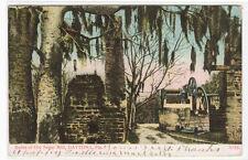 Old Sugar Mill Ruins Daytona Florida 1907c postcard