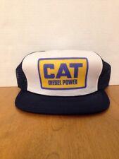 Vintage 1980s Cat Diesel Power Truckers Cap Unused New Old Stock