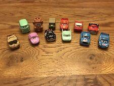 Mattel Disney Movie Pixar Cars Toy Plastic Mini Scale Car Lot Of 12
