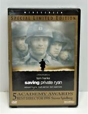 Saving Private Ryan, Special Limited Edition, Widescreen 1999 Dvd Movie, Vg Used
