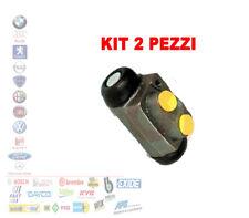 KIT 2 PEZZI CILINDRETTO FRENO FORD ESCORT 5 6 7 FOCUS 2 ORION SERRA 1.4 FHW335