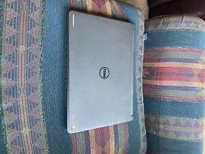 chromebook laptop, black, used condition