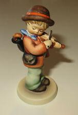 "Hummel Goebel figurine Boy w/ Violin 🎶 * 3"" tall, Tmk6 (Missing bee)"