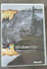 Microsoft Windows Vista RC-1 32 bit and 64 bit w/ Product Key