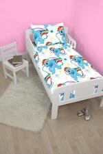 4 in 1 My Little Pony Dash Junior Cot Bed Bundle Duvet Quilt Pillow Set Official