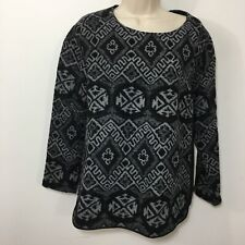 Rebecca Taylor pullover wool blend sweater size 10
