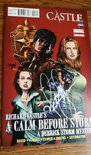 Nathan Fillion - Castle - signed comic book  autograph EXACT PROOF Issue #3 Rare