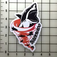 "Sharknado 6"" Tall Vinyl Decal Sticker BOGO"
