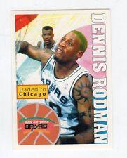 figurina - BASKETBALL BASKET PANINI 1995 95/96 - numero 189 DENNIS RODMAN