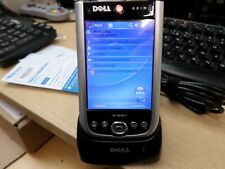Dell AXIM PDA - Tested Working w/ extra battery, dock (919)