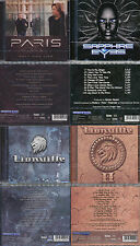 4 CDs, Paris - Only One Life + Sapphire Eyes + 2 X Lionville (I+II) bonus tracks