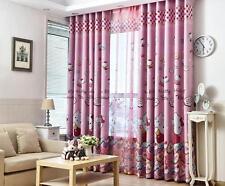 Warm Embrace Room Darkening HELLO KITTY Curtains Window 4 Piece Panel Drapes...