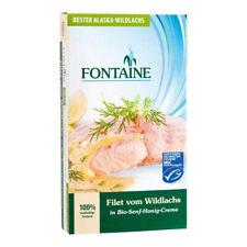 Filet Vom Wildlachs - Senf-honig-creme 200g   Fontaine