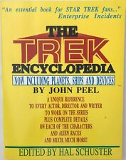 Trek Encyclopedia by John Peel 1988 Paperback Complete Star Trek Reference Book
