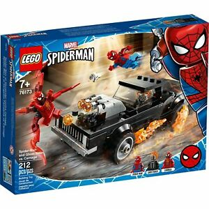Lego 76173 Marvel Spider-Man and Ghost Rider vs. Carnage New with Sealed Box