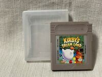 Kirby's Dream Land Nintendo Gameboy Game Cartridge Authentic & Working