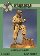 Warriors 1:35 American Tanker Resin Figure Kit #35005