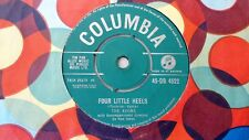 """THE AVONS 7"""" FOUR LITTLE HEELS b/w THIS WAS MEANT TO BE. UK COLUMBIA 1960"""