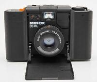 Minox 35ML Kleinbild Sucherkamera Color-Minotar 2.8 35mm Optik