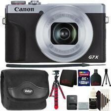 Canon PowerShot G7 X Mark III Digital Camera Silver Top Accessory Bundle