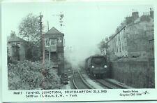 Pamlin Repro photo postcard M3211 Tunnel Junction Southampton 1953 34109