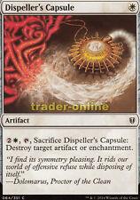 4x DISPELLER 'S CAPSULE (capsula del verbanners) COMMANDER Magic 2016