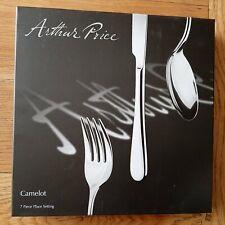 New Arthur Price Signature Camelot 7 Piece Cutlery Set - ZCAM1107 BNIB