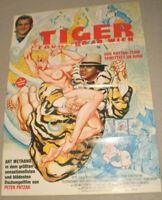 A1 Filmplakat ,TIGER FRÜHLING IN WIEN,WILLIAM BERGER,EDDIE CONSTANTIN