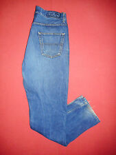 Di marca Ben Sherman Button-Fly-Jeans Denim Blu Da Uomo-Vita 34 Gamba 34-B 30 *