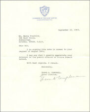 THANE CAMPBELL (CANADA) - TYPED LETTER SIGNED 09/22/1969